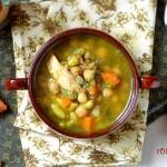 Ароматна пилешка супа с варива 150x150 Супи