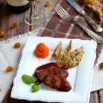 Глазирано патешко със зимни зеленчуци 150x150 Ястия с месо и колбаси