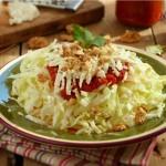 Зелева салата с лютеница и сирене 150x150 Салати