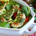 Зеленушки с пиле 150x150 Салати