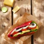 Зеленчуков хамбургер 150x150 Салати
