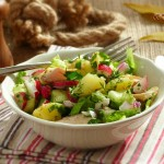 Картофена салата с пушена риба2 150x150 Salads