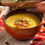 Крем супа от леща с праз и пармезан 150x150 Супи