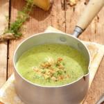 Крем супа с листа от репички3 150x150 Soups