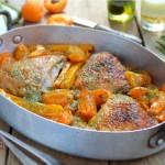 Лятно пиле с кайсии 150x150 Ястия с месо и колбаси