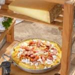 Нахутен качамак с яйце и бекон 150x150 Пица, полента и паста