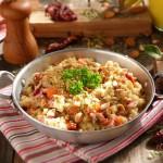 Пилаф с кафяв ориз пушен бут и бирена мая 150x150 Ястия с месо и колбаси