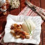 Пилешко филе в сос от пияни вишни 150x150 Ястия с месо и колбаси