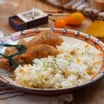 Пиле с ориз 150x150 Ястия с месо и колбаси