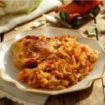Пиле с прясно зеле 150x150 Ястия с месо и колбаси