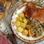 Пълнена агнешка плешка 150x150 Ястия с месо и колбаси