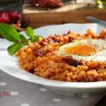 Ризото със сушени домати и яйце 150x150 Ястия без месо
