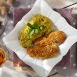 Сайда с кокос и къри и пюре от броколи 150x150 Рибни ястия
