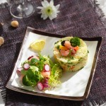 Салата със скариди и плодово табуле1 150x150 Salads