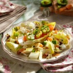 Салата с ендивия пушена сьомга и сос порто2 150x150 Salads