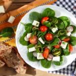Салата с тиквички на грил и спанак 21 150x150 Salads