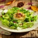 Салата с тортичка от дюла и сирене2 150x150 Salads