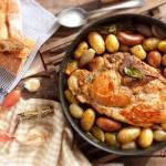 Свински бут с шалот 150x150 Ястия с месо и колбаси
