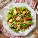 Сурими в ементал върху шарена салата2 150x150 Salads