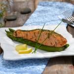 Сьомга в масло със зеленчуци 21 150x150 Fish and sea food