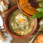 Тажин от леща и поширани яйца 150x150 Ястия без месо