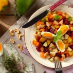 Цветна градина с варени яйца2 150x150 Salads