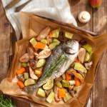 Ципура с кокосови зеленчуци и круши1 150x150 Fish and sea food