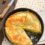 Баница с броколи и магданоз2 150x150 Pies and quiches