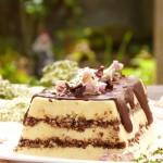 Ванилова фантазия с шоколадови вафли 150x150 Кремчета и торти