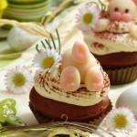 Великденски шоколадово бадемови мъфини 150x150 Cakes and tarts