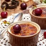 Крем брюле с череши и синьо сирене1 150x150 Festive cakes and creams