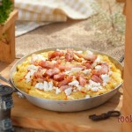 Нахутен качамак с яйце и бекон 2 150x150 Pizza, polenta and pasta