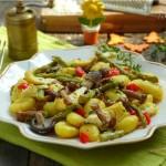 Ньоки с горски гъбки и аспержи4 150x150 Pizza, polenta and pasta
