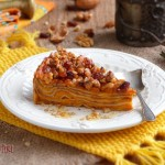 Палачинкова торта с тиква и стафиди 150x150 Кремчета и торти