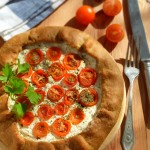 Пита с чери доматчета3 150x150 Pies and quiches
