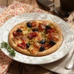 Пица с моцарела зелени бобчета и прошуто 150x150 Пица, полента и паста