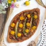 Пица с пушени шпроти и горски гъби 150x150 Пица, полента и паста
