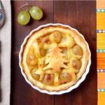 Тарта с грозде и бекон4 150x150 Pies and quiches