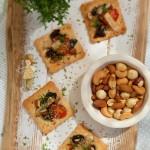 Хрупкави мини пици 150x150 Пица, полента и паста