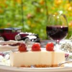 Чийзкейк с пияни вишни 150x150 Кремчета и торти