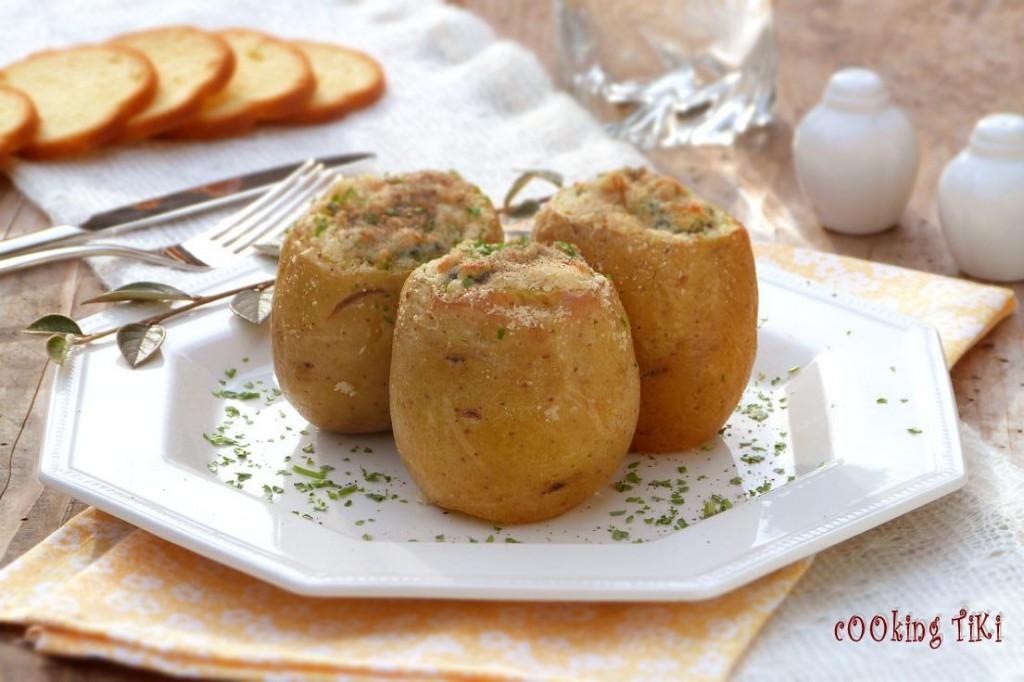 Пълнени картофи със спанак 1024x682 Пълнени картофи със спанак