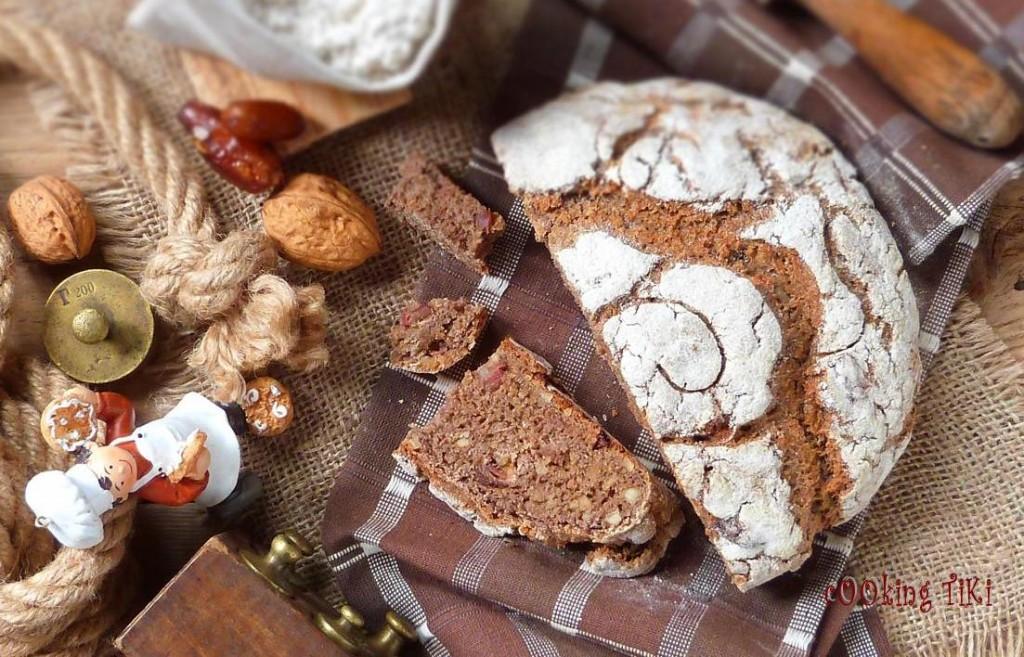 Квасен хляб с орехи и фурми 3 R1 1024x657 Sourdough bread with nuts and dates