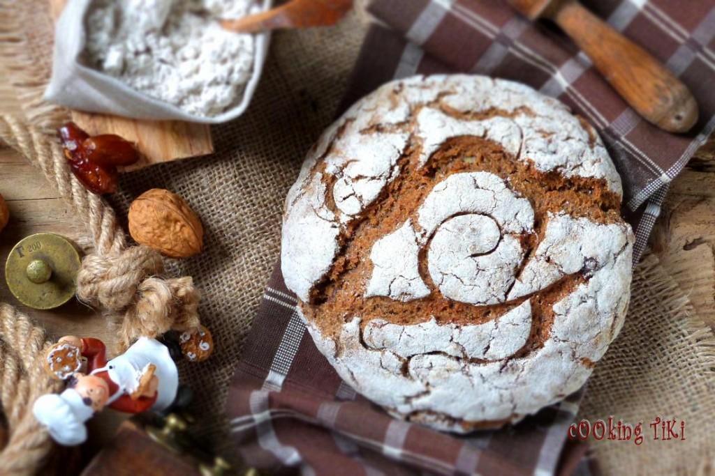 Квасен хляб с орехи и фурми R1 1024x683 Sourdough bread with nuts and dates