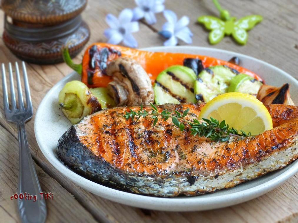Darne de saumon au barbecue cooking tikicooking tiki for Saumon en papillote au barbecue