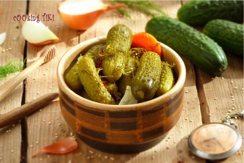 Кисели краставички2 1024x684 Pickled cucumbers