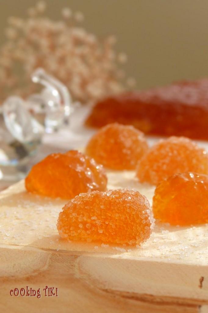 Желирани джинджифилови бонбони 22 682x1024 Ginger caramels