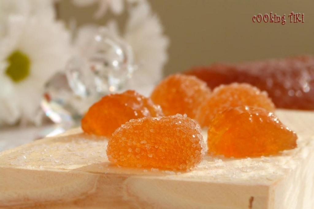 Желирани джинджифилови бонбони 32 1024x681 Ginger caramels