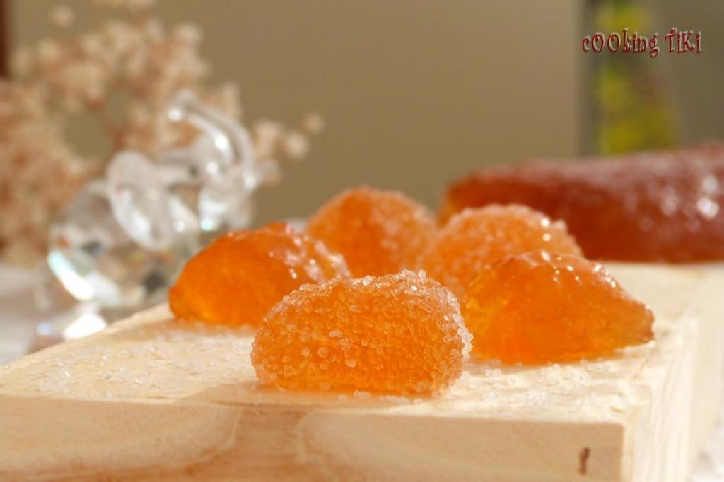 Желирани джинджифилови бонбони2 1024x682 Ginger caramels