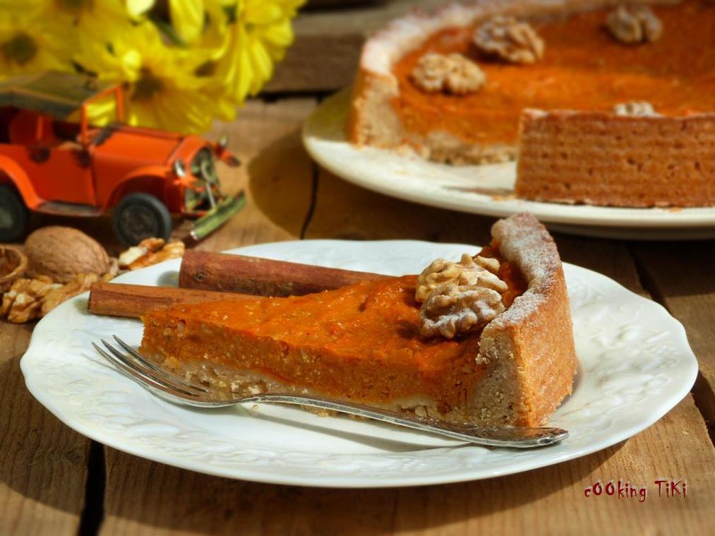Тарт с тиква 21 Pumpkin pie