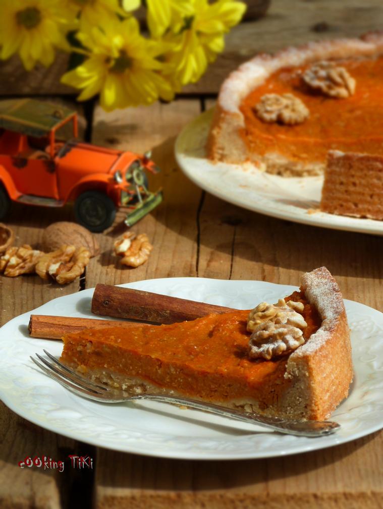 Тарт с тиква 31 Pumpkin pie